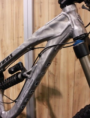 The new tubing bolsters stiffness without adding weight, according to Intense
