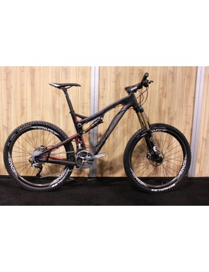Because of its lighter carbon build, Intense bill the Carbine SL solely as a trail bike