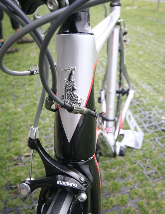 The SP Comp's tapered head tube