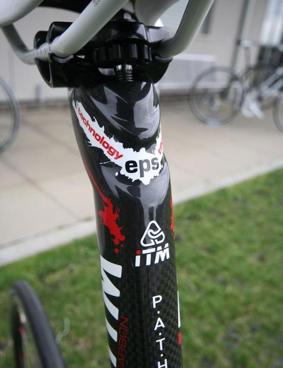 ITM's Pathom carbon seat post