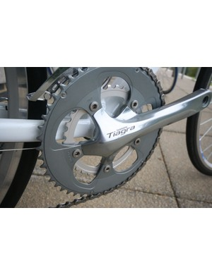 All new 10 speed compatible Tiagra compact chain set