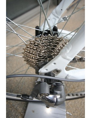 Tiagra with that all important 10th sprocket
