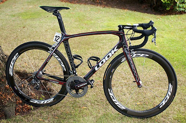 Iker Camano's Look 695 SR at the Tour of Britain