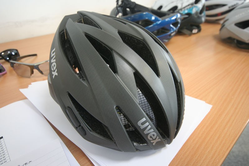 The new UVEX Ultrasonic road helmet