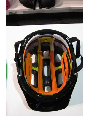 The MIPS liner protects against rotational injury