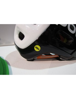 The MIPS system adds just 19g, but POC claims it makes the helmet 30-percent safer