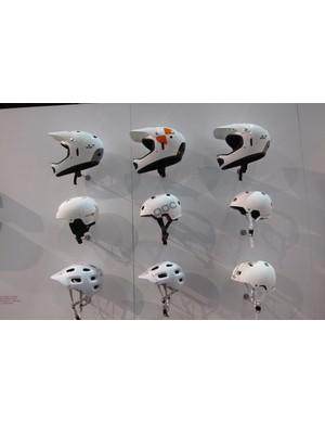POC's 2012 helmet range