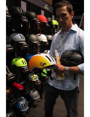 Warren Gravely, Giro's cycling helmet manager, explains the new Reverb city helmet
