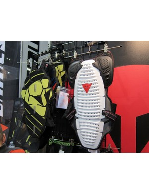 As in years past, Dainese's catalog of body armor will include a wide range of torso protectors