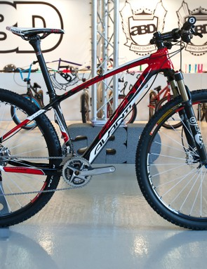 The Competitor Team is Avanti's top of the range hardtail 29er