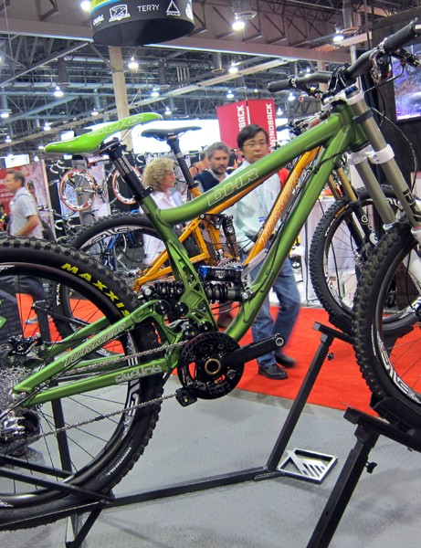Turner's DHR downhill racer has received lots of praise for its capable rear suspension and low-and-slack geometry.