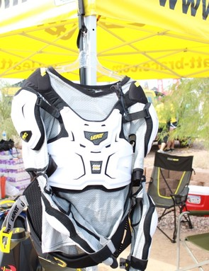 The front of the Adventure Body Protector