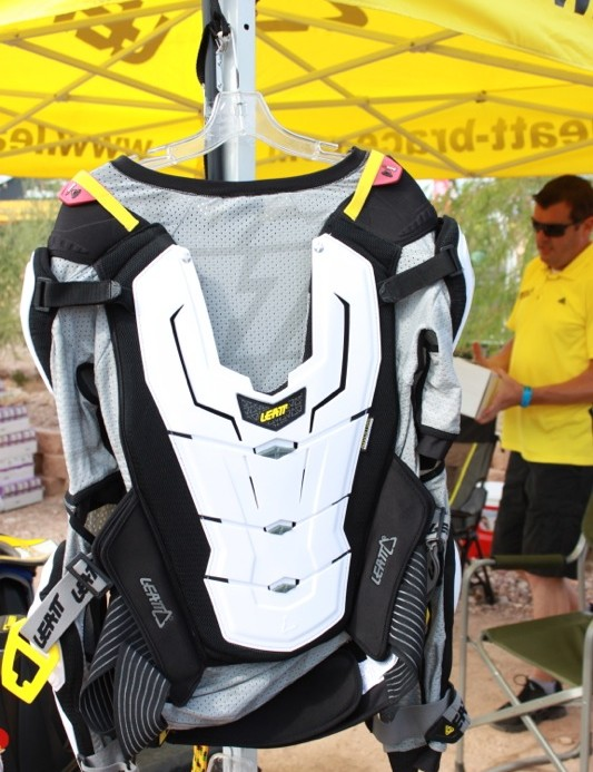 The rear of the Adventure Body Protector