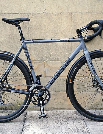 The Focus Mares AX4 is their entry-level, all alloy cyclocross bike for 2012