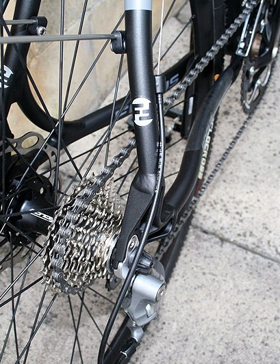 Tektro Lyra disc brakes on the AX4