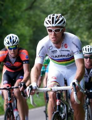 Stage 6: Hayman, Hushovd & Cavendish climbing