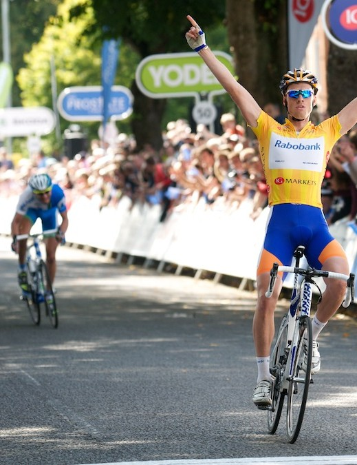Lars Boom wins stage 6 by some margin in Wells