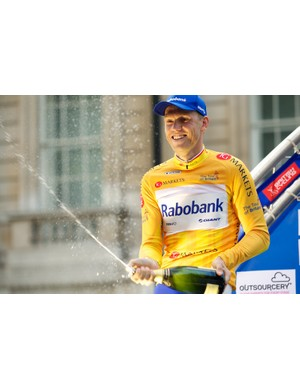 Lars Boom wins the 2011 Tour of Britain