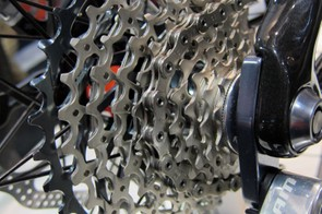 The Rocky Mountain Vertex 990RSL will come with SRAM's new XG-1080 cassette.