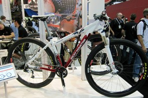 The Rocky Mountain Vertex 950 is aimed at racers but rack mounts on the rear stays still cater to expanded versatility.