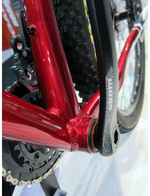 Rocky Mountain has heavily embraced BB92 press-fit bottom brackets for 2012.