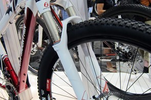 The new Rocky Mountain Vertex 950 29er alloy hardtail will come with a tapered RockShox Reba fork.