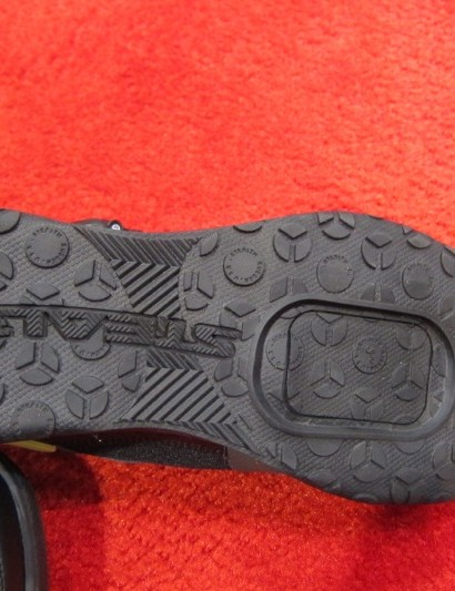 Five Ten's Kestrel uses Stealth Rubber in its tread, but in a lighter design