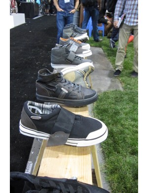 DZR debuted last year at Interbike; all of their shoes are clipless compatible