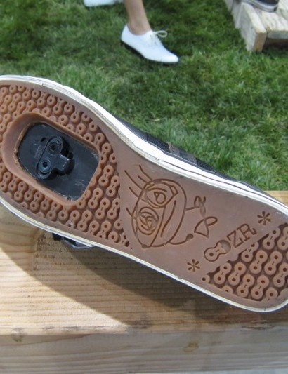 DZR's clipless sole