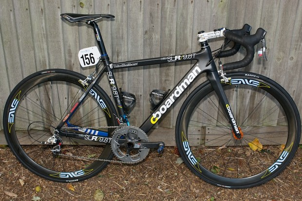 Johnny Clarke's Boardman SLR 9.8T elite at the Tour of Britain