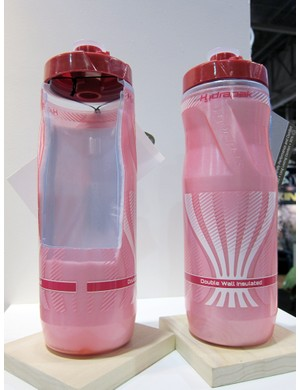 The new Hydrapak Wooly Mammoth bottle uses a double-walled construction filled with Primaloft