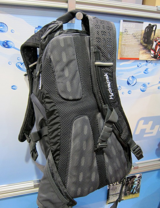 The revamped Hydrapak Jolla gets a molded foam back panel and shoulder straps for improved ventilation and comfort