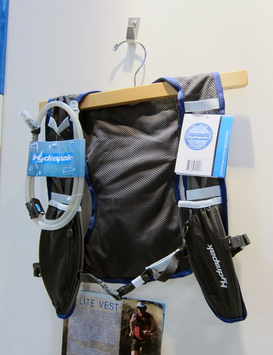 The ultra-minimal Hydrapak E-Lite Vest gets a new mesh back and bigger shoulder strap pockets that are now iPhone-friendly