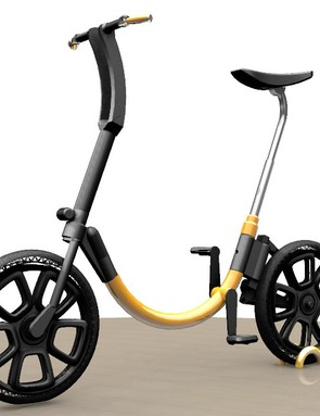 Wartofsky successfully funded this e-bike through KickStarter