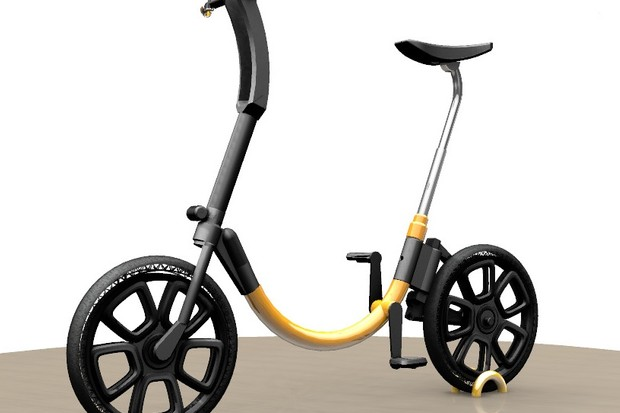 Wartofsky successfully funded this e-bike through KickStarter