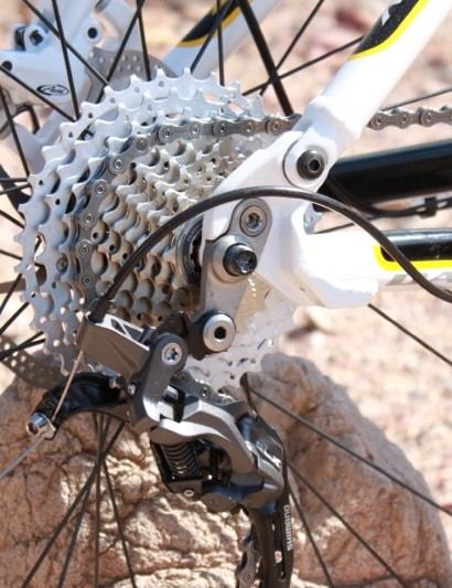 Jamis's full-suspension 29ers rely on the 12x135mm rear through-axle standard