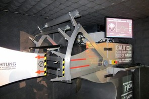 Yakima also inherited Whispbar's portable wind tunnel, which measures noise generated by different crossbar shapes at various speeds
