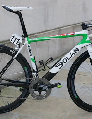 Andy Fenn's (An Post-Sean Kelly) Dolan Ares at the Tour of Britain
