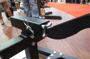 The new NV Core's adaptable hitch mount fits 1-1/2in and 2in receiver hitches