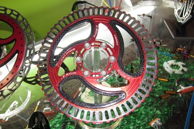 Ashima's three-material 60g D-Matrix rotor