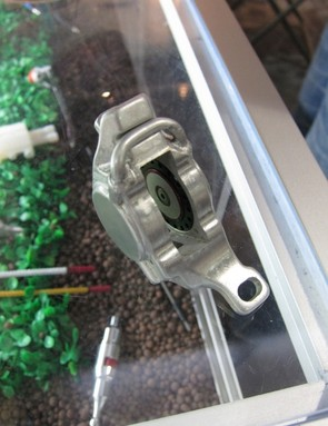 Ashima's new prototype monobloc caliper