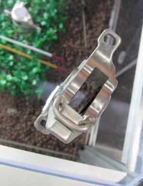 The fluid transfer tube is brazed to the caliper