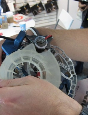 Ashima's prototype caliper fan