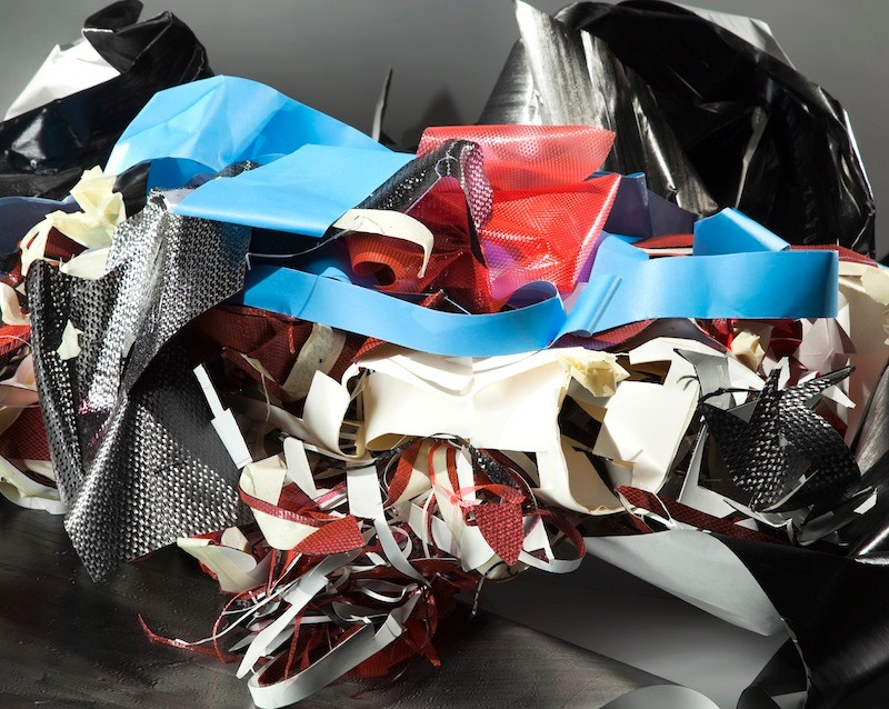 Trek currently recycles scrap from the carbon production process