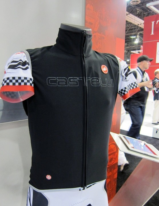 Castelli's new Fawesome Vest sports an unusually trim fit for an outer garment
