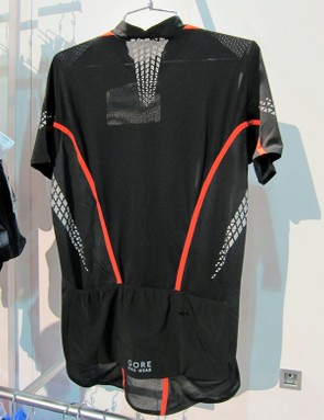The mesh back on the Gore Bike Wear Xenon jersey looks to provide heaps of ventilation in hot conditions