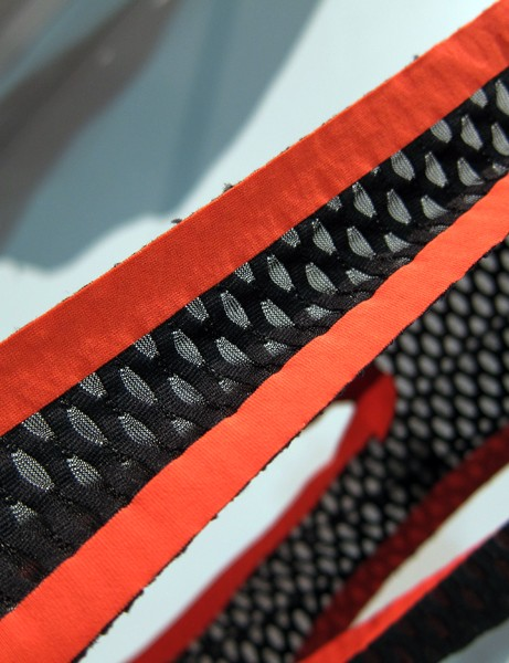 Welded edges on the Gore Xenon bib short straps should yield less irritation than conventional seams