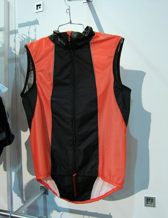 The new Gore Bike Wear Xenon Vest is designed to provide extremely lightweight wind protection