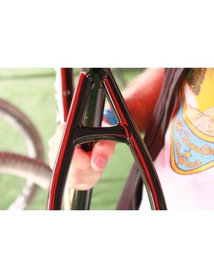 Breeze says that full use of steel tubing by minimizing forged and machined pieces wherever possible offers a better, more magical, ride