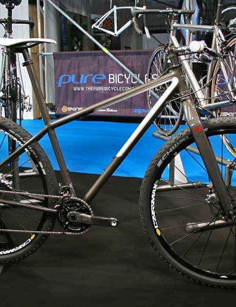 Enigma were showing this sleek EgoST 29er specially built up for the show